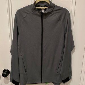 Men's Charcoal Track Jacket.